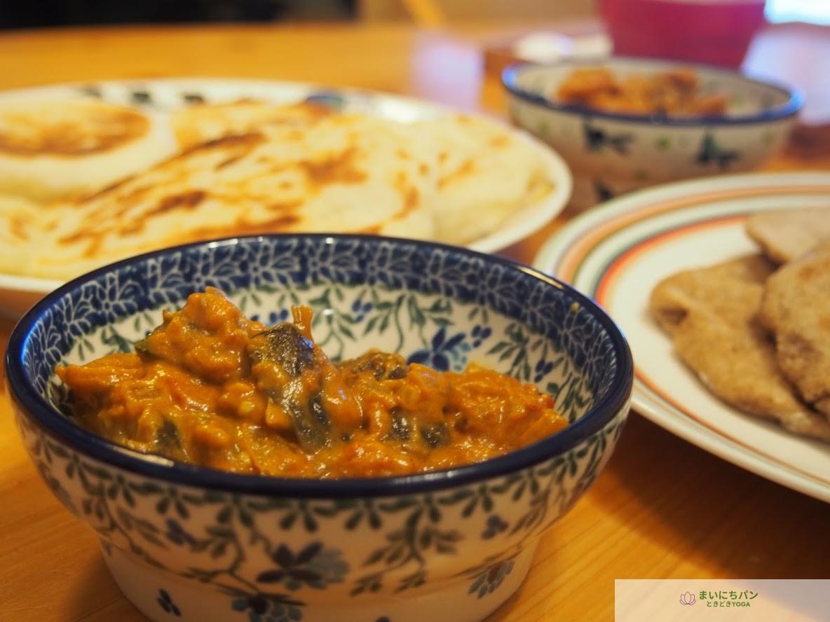 インドカレーの食卓